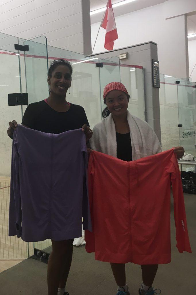C Champion Nicole Jennex and Finalist Venus Shyu