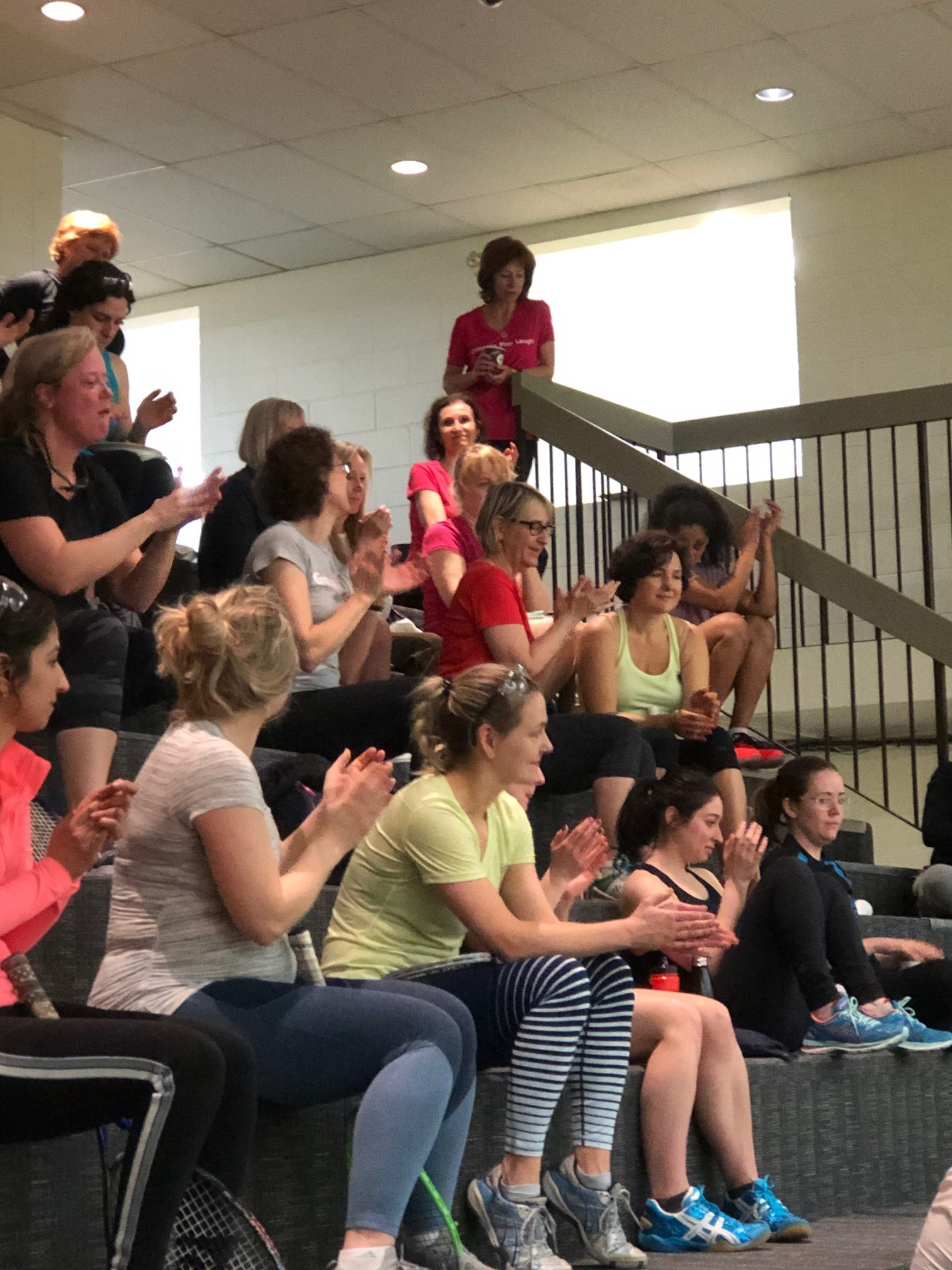 Our women's squash community rocks!